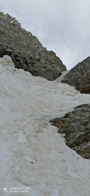 ghiaccio nella strettoia