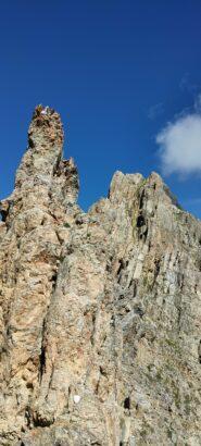 La cresta vista dal colle della Meja