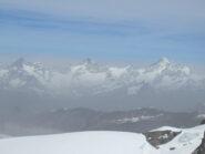 Oberlgabelhorn, Zinalrothorn, Weisshorn