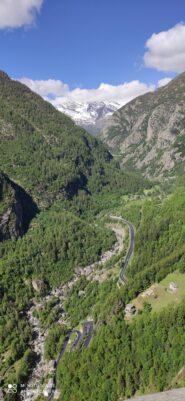 La valle e il Caporal sulla ds