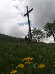 Alpe di Papa Giovanni con nuvoloni in arrivo