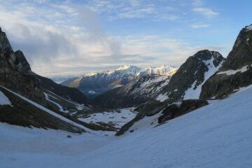 poco sopra l'Alpe Boau