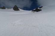 ultima discesa per rientrare all'Alpe Boau