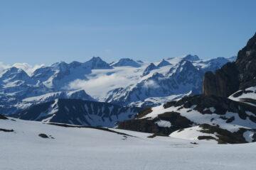veduta sul ghiacciaio del Rutor