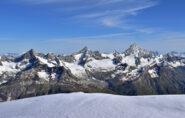 Ober Gabelhorn, Zinalrothorn e Weisshorn