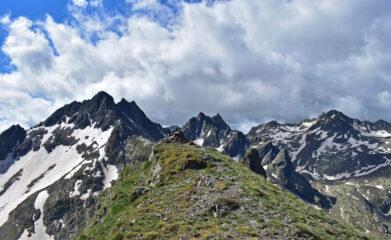 Ometto di vetta,Las Blancias,Monte Vallonetto e Cime di Vens