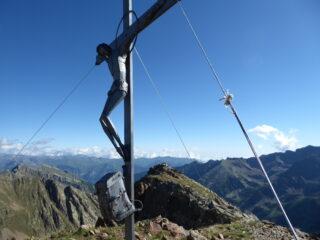 il crocefisso sulla cima della Lombarda