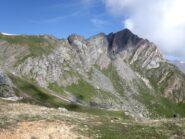 Il Monte Gabel visto dal Colletto Chiausis.