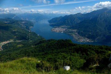 Panorama verso il lago