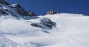 Salendo il ghiacciaio