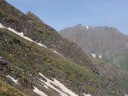 L'Albergian visto da poco prima della cima.