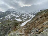 Traverso secco e inizio neve
