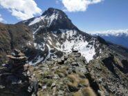 Dalla Roisan: Cresta verso la Becca di Viou.