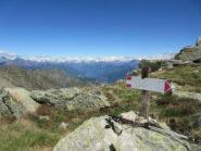 dalla cresta verso Valle d'Aosta