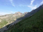 Pointe de Peyrefique dal sentiero per i laghi