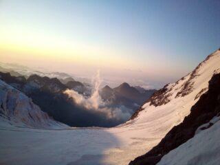 Il ghiacciaio delle Piode