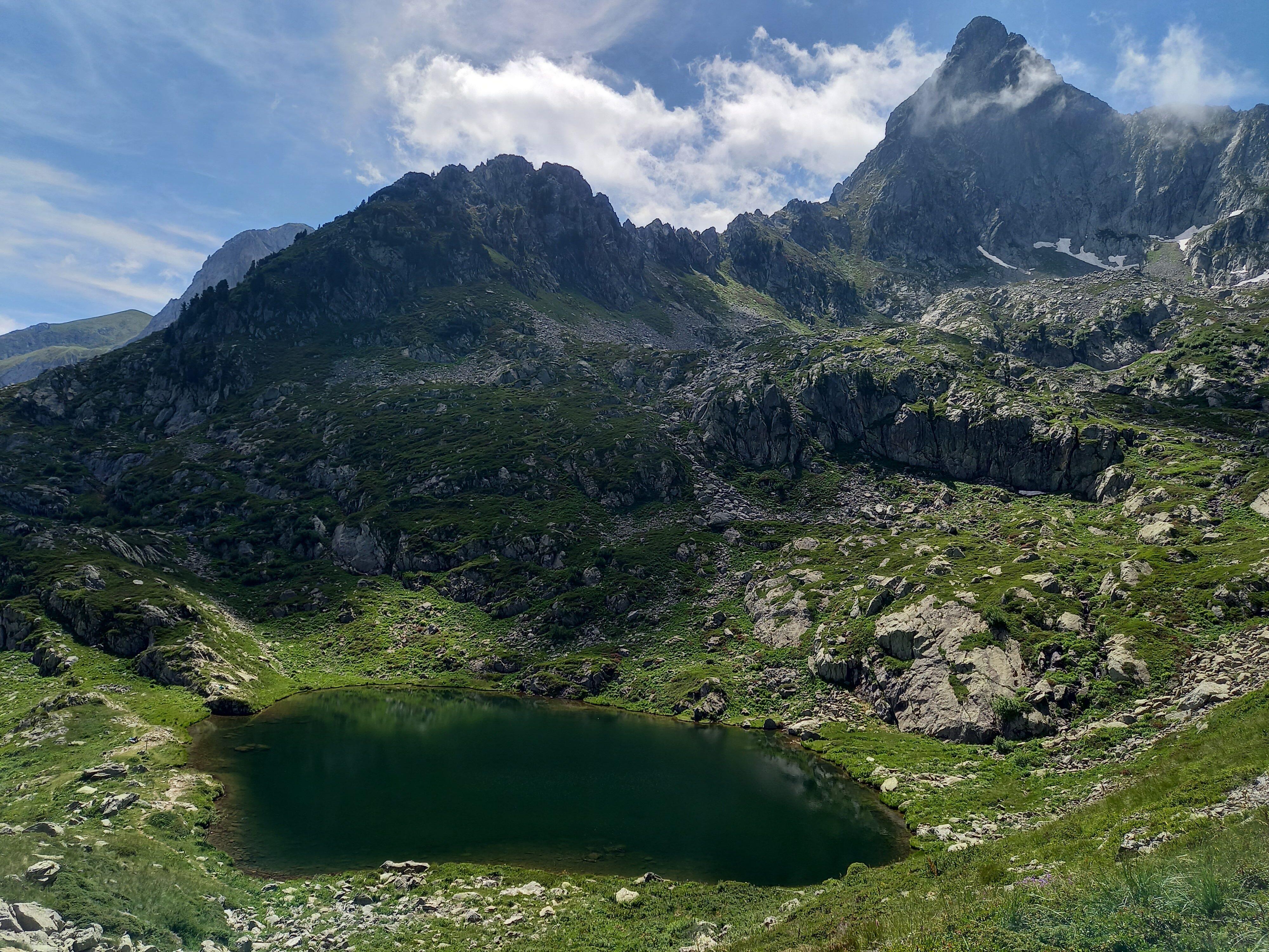Frisson e lago inferiore