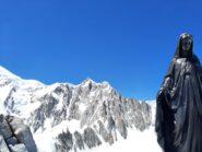 Il Mont Maudit dalla cima della Tour Ronde.
