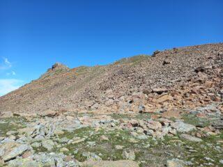 Cresta da risalire per il Rocciavré