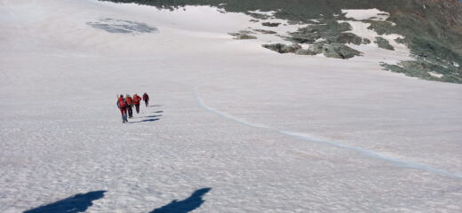 il ghiacciaio del Baounet