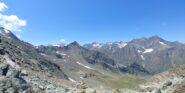 panorama verso ovest dal colle