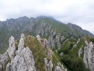 Cresta verso il Monte Alben.