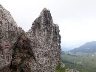 Passaggi tra Monte Alben e Cima della Croce.