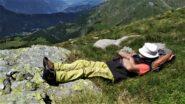 ... relax e riflessione nel blu del paradiso di Aksobhya ....