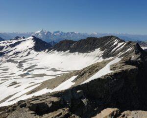 Neve al pianoro dell'ex ghicciaio breuil