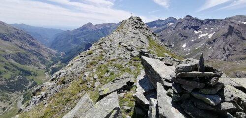 Ultimo tratto per la Rocca Turo