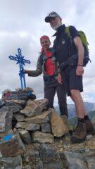 Con Sandro sulla cima