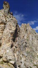 Particolare di Rocca La Meja dall'omonimo Colle