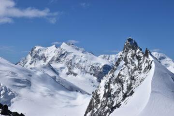 Zoom su Punta Gnifetti,Nordend e Rimpfischorn