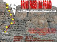 traccia della via presa da https://www.google.com/search?q=primi+passi+da+primo+castelletto+&tbm=isch&ved=2ahUKEwi02-7XwerxAhVNtqQKHfR5CdcQ2-cCegQIABAA&oq=primi+passi+da+primo+castelletto+&gs_lcp=CgNpbWcQAzoECCMQJzoCCAA6BAgAEEM6BAgAEB46BAgAEBM6CAgAEAUQHhATOggIABAIEB4QE1CJZFjFsQFgvrcBaANwAHgAgAGGAogBojGSAQczMC4yOS4xmAEAoAEBqgELZ3dzLXdpei1pbWfAAQE&sclient=img&ei=rwPzYPTHGs3skgX086W4DQ#imgrc=kBCqgJAHO1uQzM