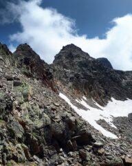 Cresta ovest e cima