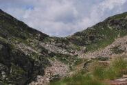 Il Colle della Balma d'Oropa visto dal Pian della Ceva