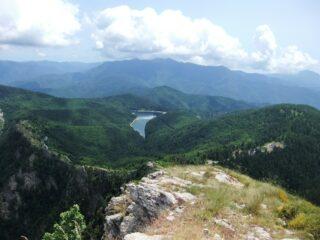 Lago di Tenarda dal Carmo Ciaberta