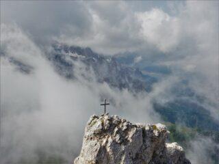 Nel silenzio della cima