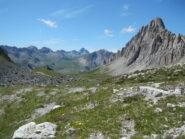 Rocca la Meja, Monte Cassorso e Monte Oronaye visti dal Colle d'Ancoccia