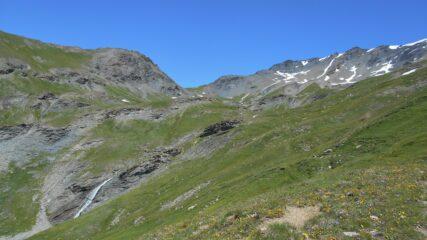 La parte alta del vallone