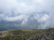 Aosta dal sentiero 25B
