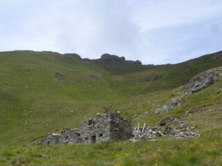 La cima dalle Grange Lezan