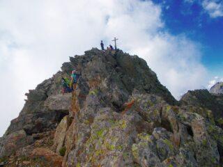 ultimi metri alla cima
