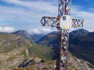 la seconda croce ,sul versante Val Ellero