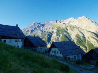 Bessè Haut,con le cime Roc de Boucher e Ciatagnera