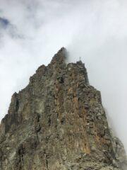 traversata in cresta verso il picco Coolidge e il picco Lanino