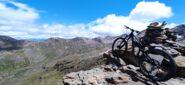 Panorama dalla cima sul classicimo versante di discesa dell' Invergnaux