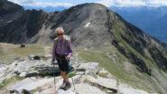 Si scende per andare al Mont Mary