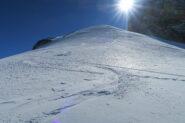 splendida neve in alto