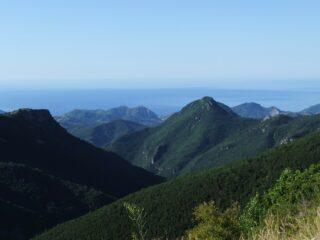 Il mare ed il Monte Abellio